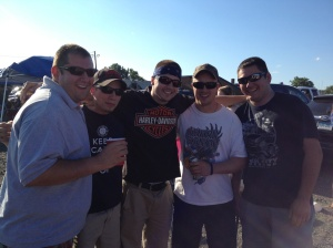 The guys at last years Rascal concert!