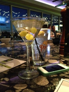 Rooftop White Grape Moscato Martini