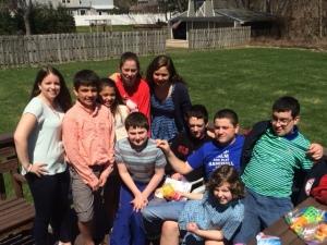 The crazy Davis family :)