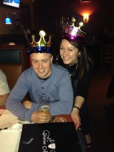 Dan definitely loved his birthday crown :)