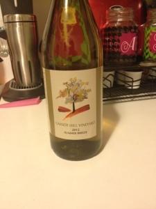 One of the wines we purchased, tastes like liquid strawberries aka heaven