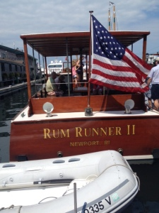 Our boat, Rum Runner II (very appropriately named)