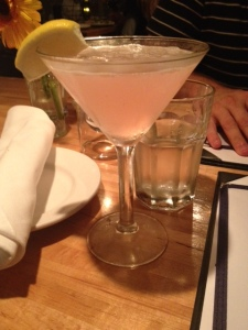Colorado Lemongrass martini = pretty and delish