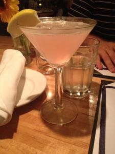 Colorado Lemongrass martini = pretty and delish