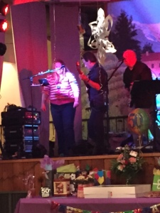 Heidi had a little cameo appearance with the band :)