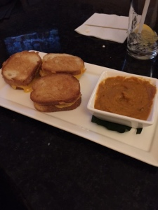 Dan's grilled cheese sliders with tomato fondue.. I can't even begin to tell you how brilliant these were