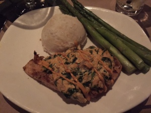 "I had the moonfish ""dynamite"" style.. it was much like swordfish and very delish"