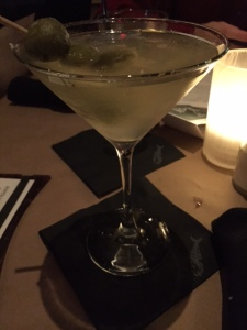 Bonefish's dirty martini is the best I have ever had