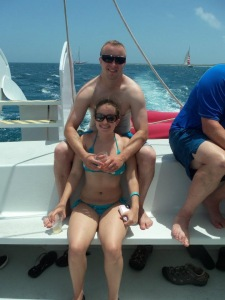Can we please get back on that cruise ship and head back to Aruba?