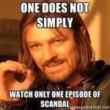 scandal meme