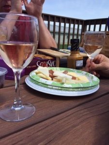 Wine and cheese. My two essentials in life.