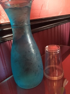 The water in the adorable carafe was also a nice touch!