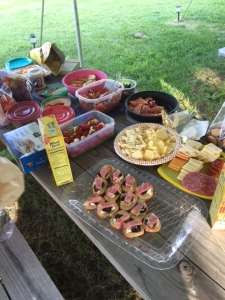 My stomach is growling just looking at all of that food!