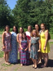 All of my wonderful ladies!