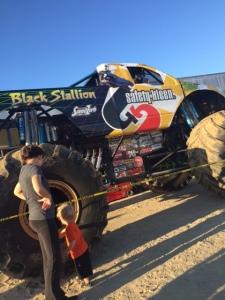 Huge monster truck!