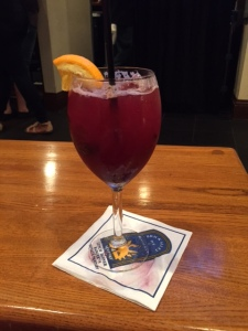 Blackberry Sangria at Brick Alley Pub!