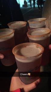 Cheers to pumpkin beer!
