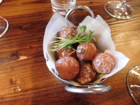 vinted risotto balls