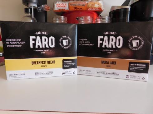faro coffee box