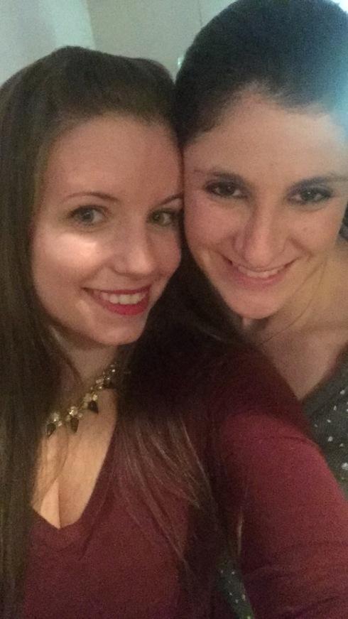melissa and I NYE