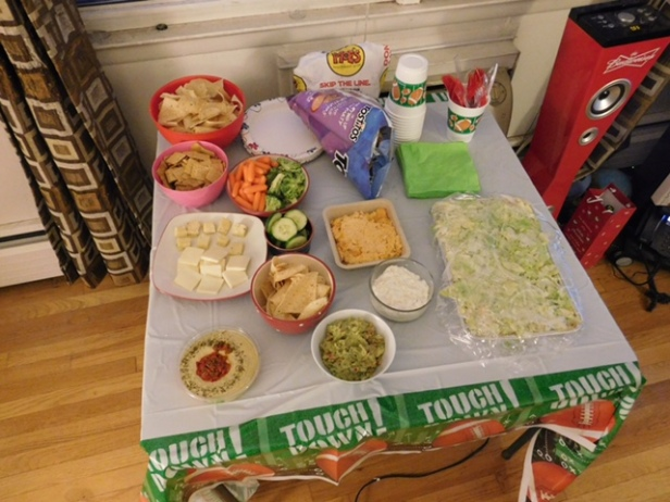 Superbowl 2016 spread