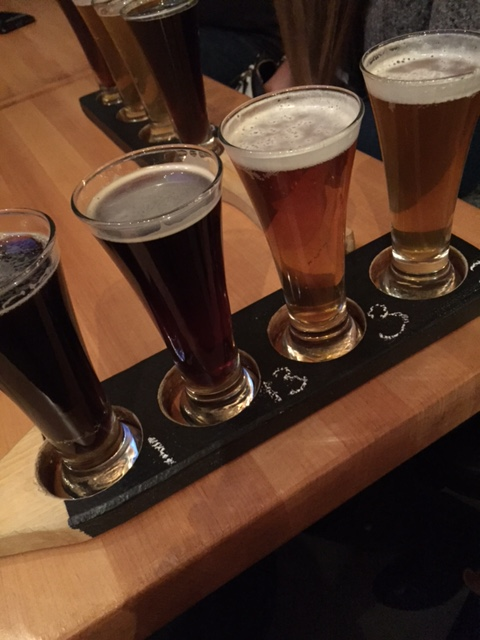 powder hollow beer flight
