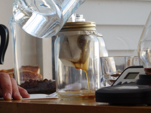giv coffee mason jar