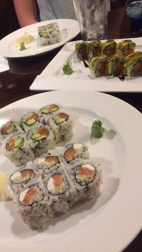 Friday night sushi