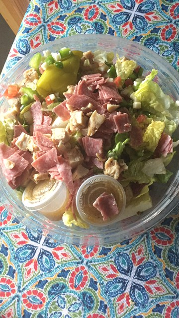 Firehouse Subs salad