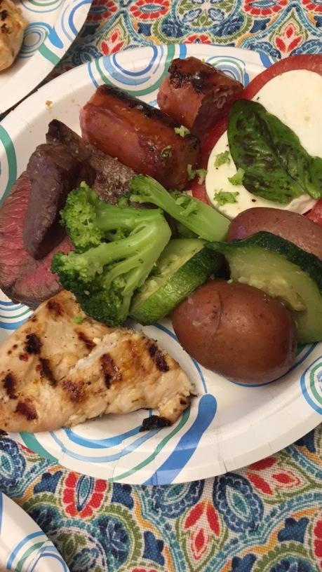 brian and natasha dinner